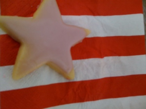 Delicious vegan sugar cookies helped us ring the bell of freedom on Independence Day, as we struggled with our addiction to sugar. Photo by Christopher.