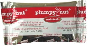 On our trip to the United Nations in New York City, we learned about Plumpy'Nut, a high protein, peanut-based food used in famin relief.
